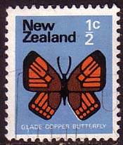 New Zealand 1970 SG 914 Butterfly Fine Used