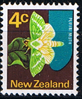 New Zealand 1970 SG 919 Butterfly Fine Mint