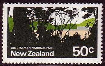New Zealand 1970 SG 932 Abel Tasman National Park Fine Mint