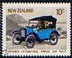 New Zealand 1972 International Vintage Car Rally SG 977 Fine Used
