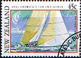 New Zealand 1992 Challenge for America's Cup SG 1665 Fine Used
