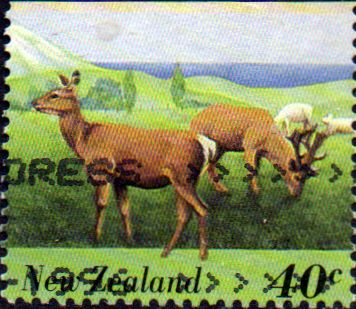 New Zealand 1995 Farmyard Animals SG 1895 Fine Used