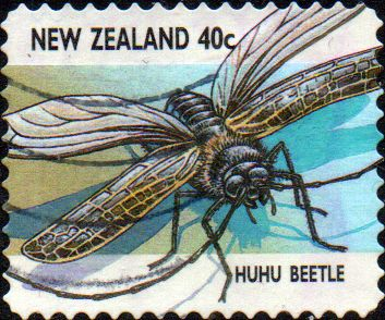 New Zealand 1997 Insects SG 2104 Fine Used