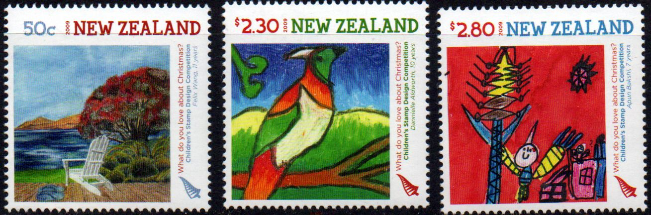 Postage Stamps Covers New Zealand 2002 Children's Book Festival Set on First Day of Issue Cover