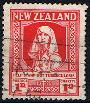 New Zealand Health 1929 Stamp Out T.B. Set Fine Used