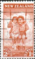 New Zealand Health 1942 Children SG 635 Fine Used