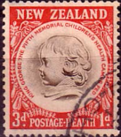 New Zealand Health 1955 Children Health Camps SG 744 Fine Used