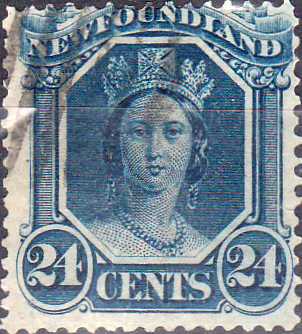 Image result for newfoundland stamp victoria