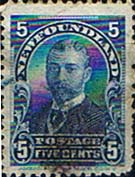 Newfoundland 1897 SG 90 King George V when Duke of York Good Used