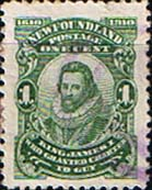 Newfoundland 1910 SG 106 King James I Fine Used