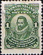 Newfoundland 1910 SG  95 King James I Mint