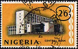 Nigeria 1961 SG  98 Central Bank Fine Used