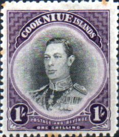 Niue 1944 King George VI SG 95 Good Mint