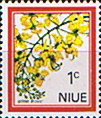 Niue Stamps 1969 Flowers SG 142 Fine Mint Scott 123