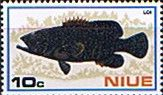 Niue Stamps 1973 Fish Set Fine Mint