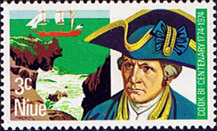 Niue Stamps 1974 Bicentenary of Captain Cook's Visit