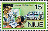 Postage Niue Stamps 1977 Personal Services SG 217 Fine Mint Scott 197