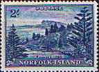 Norfolk Island 1947 Ball Bay SG  12a Fine Mint