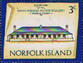 Norfolk Island 1973 Historic Buildings SG 135 Fine Mint