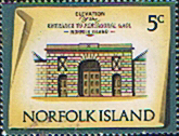 Norfolk Island 1973 Historic Buildings SG 137 Fine Mint