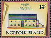 Norfolk Island 1973 Historic Buildings SG 142 Fine Mint