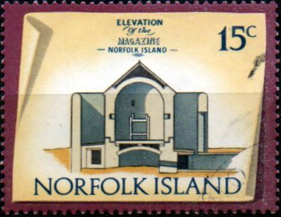 Stamps Norfolk Island 1973 Historic Buildings Fine Mint SG 143 Scott 166 The Magazine