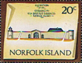 Norfolk Island 1973 Historic Buildings SG 144 Fine Mint