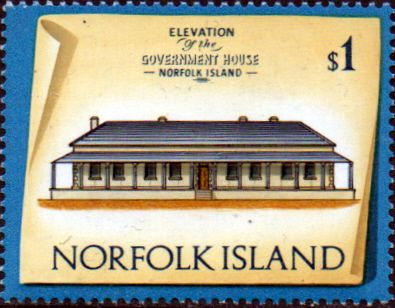 Postage Stamps Norfolk Island 1973 Historic Buildings Fine Mint SG 146 Scott 169 Old Stores Crankmill
