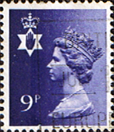 Northern Ireland 1971 Queen Elizabeth Machin SG NI 26 Scott NIMH 12 Fine Used Regional Postage Stamps