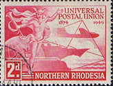 Northern Rhodesia 1949 Universal Postal Union SG 50 Fine Used
