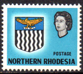 Northern Rhodesia Stamps 1963 Coat of Arms