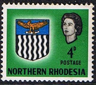 Northern Rhodesia 1963 Coat of Arms SG 79 Fine Mint