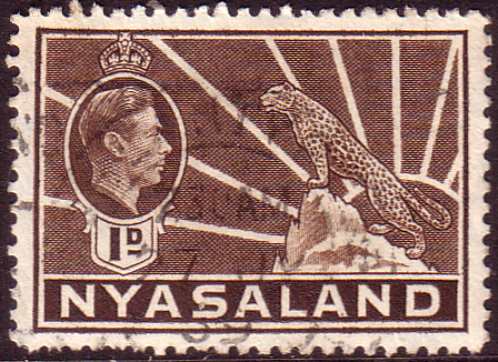 Nyasaland 1938 SG 131 Leopard Symbol of the Protectorate Fine Used