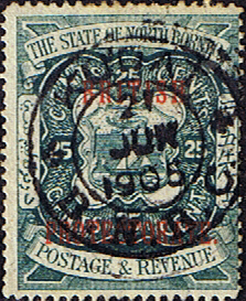 Stamps Stamp North Borneo 1897 State Issue Fine Used SG 81 Scott 68
