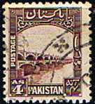 Pakistan 1948 SG 33 Fine Used