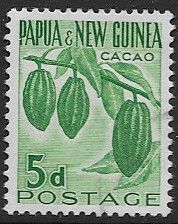 Postage Stamps Stamp Papua New Guinea 1958 Agriculture SG 19 Fine Mint Scott 141