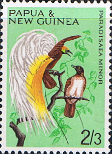 Postage Stamp Stamps Papua New Guinea 1965 Birds Fine Mint SG 68 Scott 195