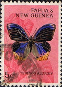 Postage Stamps Terinos alurgis