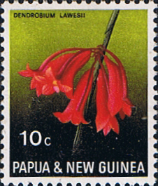 Stamps Stamp Papua New Guinea 1969 Flora Conservation Fine Mint SG 160 Scott 288