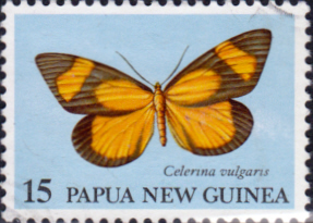 Stamps Papua New Guinea 1979 Moths SG 372 Scott 504 Fine Used
