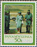 Pacific Islands Stamp Papua New Guinea 1986 60th Birthday of Queen Elizabeth ll Set Fine Mint