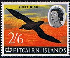 Postage Stamp Stamps Pitcairn Islands 1964 SG 36 Longboatl Fine Mint Scott 39