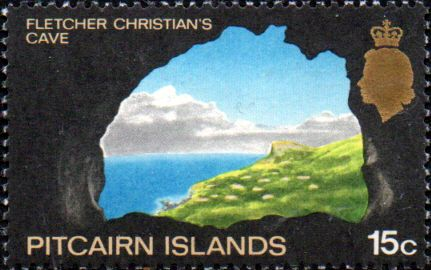 Postage Stamp Stamps Pitcairn Islands 1969 SG 96 Bounty Anchor Fine Mint Scott 99