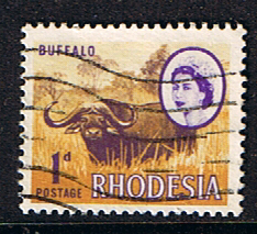 Stamps of Rhodesia 1966 Whitley Fine Used SG 374 Scott 223