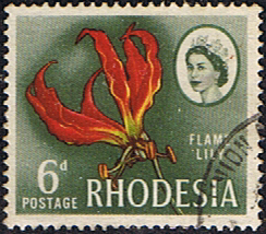 Stamps of Rhodesia 1966 Whitley Fine Used SG 378 Scott 227