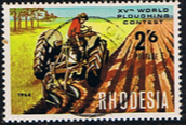 Rhodesia 1968 World Ploughing Contest SG 422 Fine Used (2)