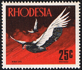 Rhodesia Stamps 1971 Birds SG 494 Fine Used Scott 290
