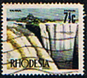 Stamps of Rhodesia 1970 Tourism SG 443c Fine Mint SG 443c Scott 283