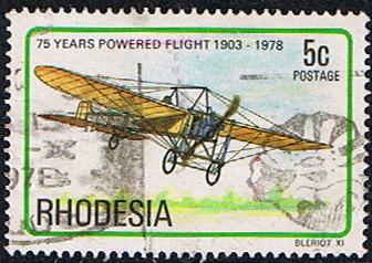 Rhodesia 1978 Powered Flight SG 571 Fine Used