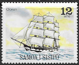 Stamps of Samoa 1977 Christmas Fine Mint